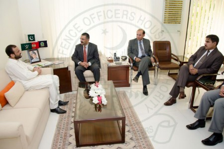 Mr-Tarique-Masood-Arain-Minister-for-Katchi-Abadis-and-Spatial-Development-Department-Visits-DHA-Karachi-450x300