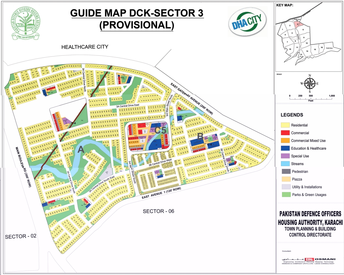 DHA City Karachi Maps Available for Download Here
